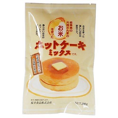 桜井食品『お米のホットケーキミックス』