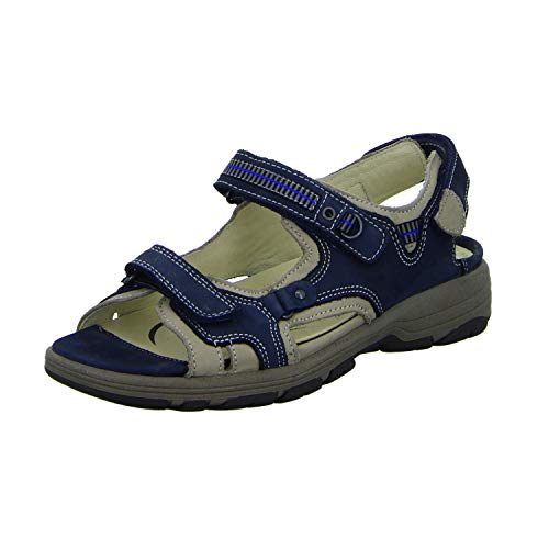Waldläufer Sandaletten bequem bis 30 mm Gr.3½, Blau