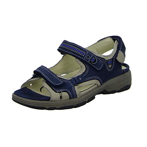 Waldläufer Herki 361004 691 998 Damen Komfort Sandalette, Größe 40