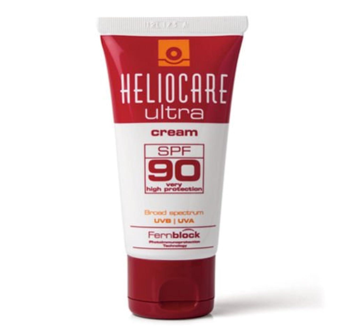 困惑したたぶん発表するヘリオケア ウルトラ 日焼け止めクリーム SPF 90 Heliocare Ultra 90 Crema [並行輸入品]