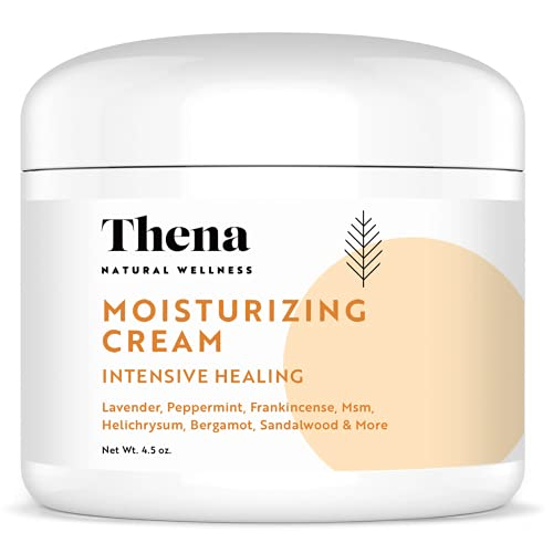 Eczema Psoriasis Cream Lotion, Best For Dry Itchy Skin Rosacea Rashes Anti Itch Relief Therapy Seborrheic Dermatitis Scalp Treatment Natural Organic Moisturizer Moisturizing Healing Ointment Face Body