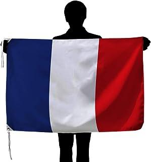 フランス国旗 NO1 トリコロール [70×105cm 高級テトロン製]日本製