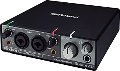 Roland Rubix 22 USB Audio Interface 2 in/2 out (RUBIX22) by Roland
