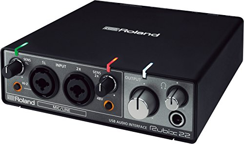 Roland RUBIX22 USB Audio Interface, 2 in/2 out