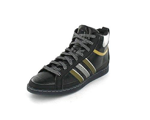 adidas Originals Sleek Series Agashae Mid Sneaker schwarz/gold/silber Rarität, Schuhgröße:EUR 36