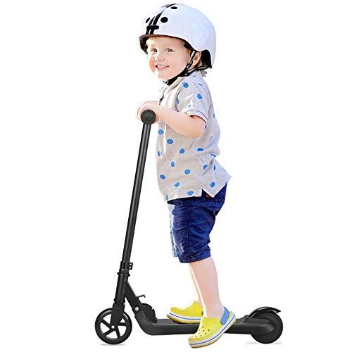 Q2 Scooter eléctrico para niños, Eléctrico Plegable E Scooter 2 Ruedas 2AH...
