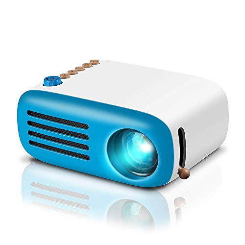 GooDee Mini Projector, LED Pico Projector, Pocket Video Projector Support HDMI Smartphone PC Laptop...