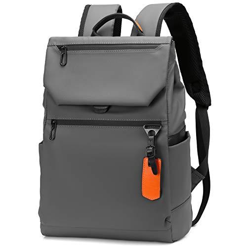 JANSBEN Rucksack Damen Herren Wasserdicht Laptop Rucksack Backpack Schulrucksack Uni Daypack mit USB-Ladeanschluss für Reisen Business College