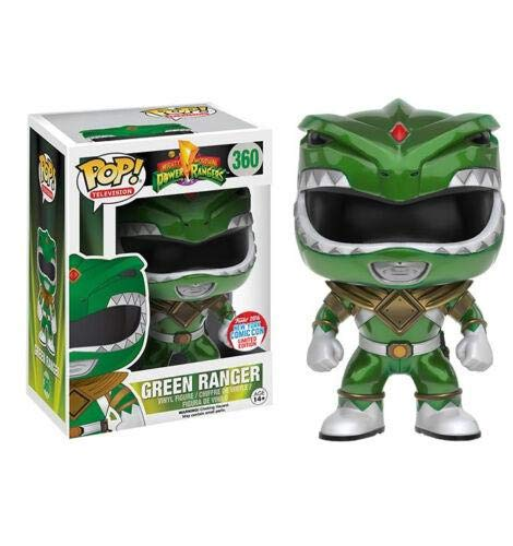 Funko Pop Green Rangers 360 Power Figure 9 cm Serie TV Limited Edition #1