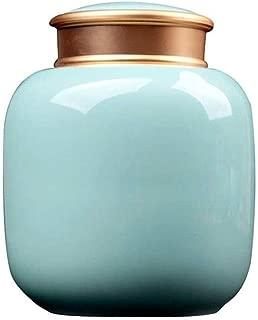 AOHMG Urna per ceneri umane urna per ceneri crematorie per adulti fino a 200 libbre per funeraria altalena o Home Urna di crematorio per ceneri umane Marrone
