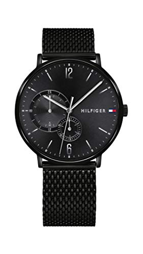 Tommy Hilfiger Analog Black Dial Men's Watch - TH1791507