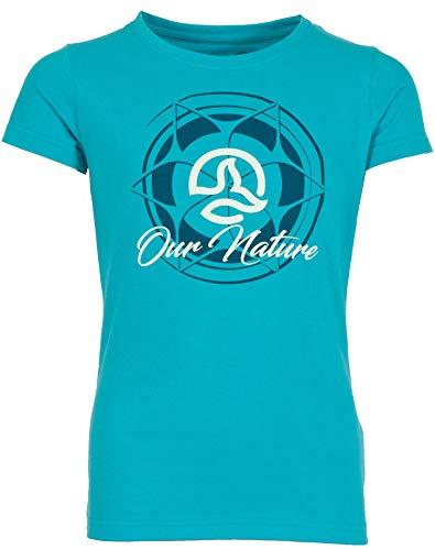 Ternua Amalia T-Shirt pour Fille L Bleu (Fresh Duck Blue)