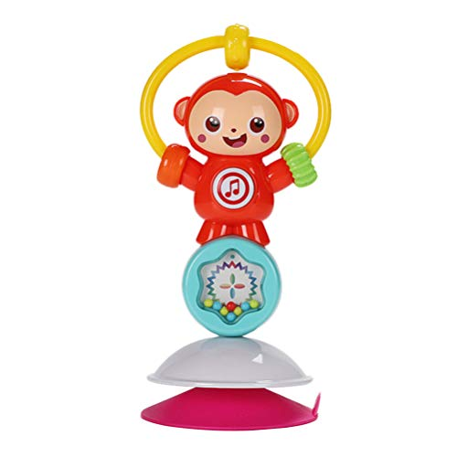 Why Should You Buy NUOBESTY Kids Rattle Toy Suction Cup Rattle Handbell Money Animal Rattle Musical ...
