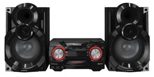 Panasonic SC-AK440LMK Midi Set 650W Negro Sistema de Audio para el hogar – Microcadena (Home Audio Midi…