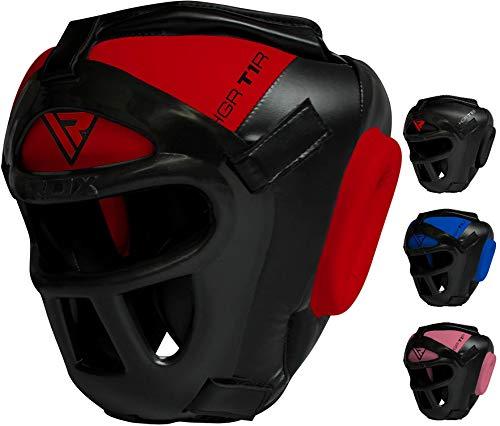 RDX T1 - Casco Protector para MMA, Kickboxing Sparring,