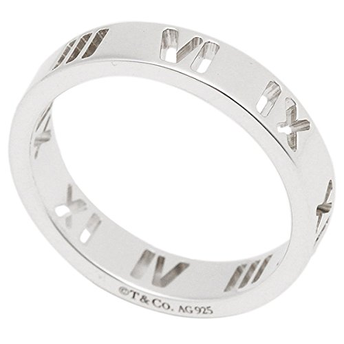 [ティファニー]リングアクセサリーTIFFANY&Co.アトラスナローリング指輪シルバー[並行輸入品]US7(約14号)