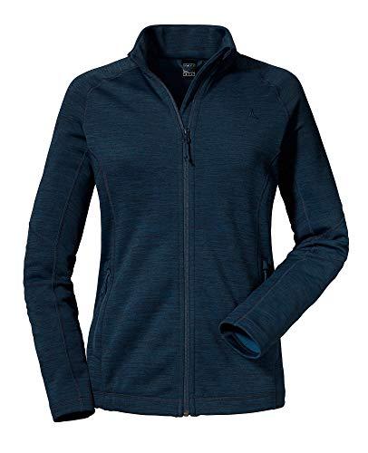 Schöffel Nagoya1 Fleece Veste Femme, Navy Blazer, FR : 2XL (Taille Fabricant : 48)