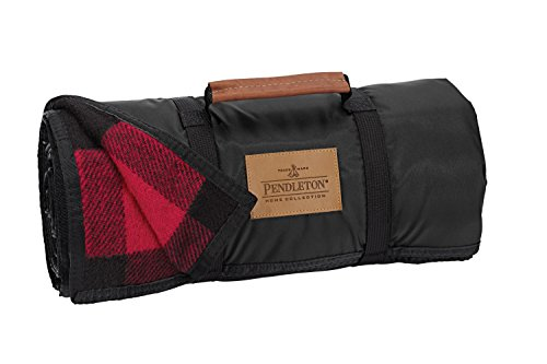 Pendleton Roll Up Wool Blanket With Nylon Back