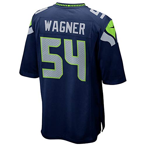 JONEKR Outdoor_Sports_Bobby_Wagner_Navy_Game_Player_Jersey