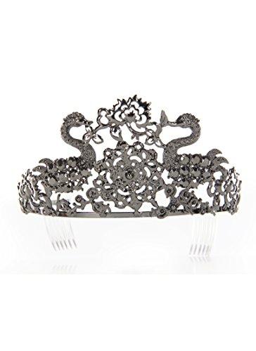 Elope 211207 Noir Adulte Jeweled Tiara