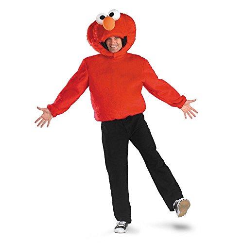 Disguise DI7254-XL Erwachsene Sesame Street Elmo Kost-m Gr--e X-Large