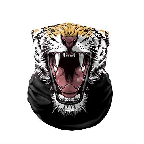 3D Animal Bandana Imprimer Bandana Foulard Tube De Moto pour Camping en Plein Air Courir Moto Pêche