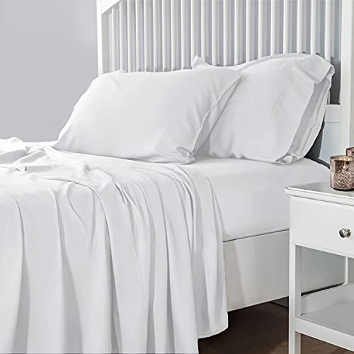ZPECC Queen Sheet Set- 4 Piece Soft Bed Sheets Set-1800 Thread Count Breathable Bedding-100% Brushed Microfiber – Hypoallergenic – Wrinkle...