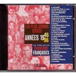 Les plus belles chansons francaises Succes 1946 - 1996 Vol 1CD
