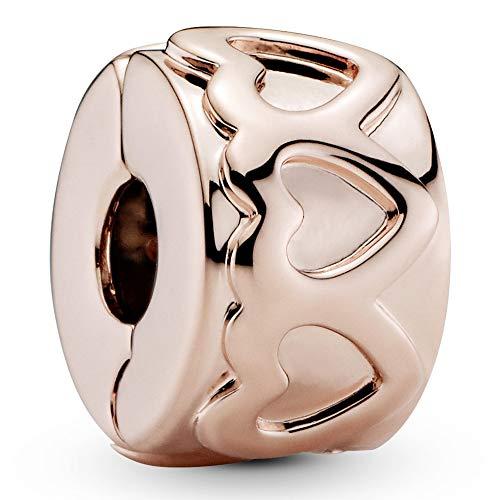 Pandora Damen-Bead Charms Vergoldet 781978, Pink