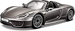 1:24 scale diecast Vehicle Superior paint quality Die-cast metal body with plastic parts Opening doors, hood or trunk on most styles Full function steering