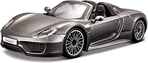 Bburago 18-21076 Porsche 918 Spyder, Couleur assortie