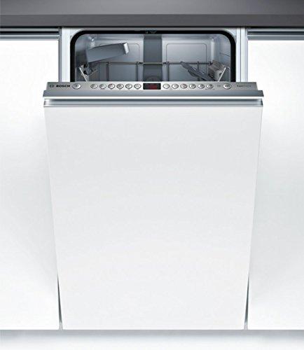 Lave vaisselle encastrable Bosch SPV46IX01E - Lave vaisselle tout integrable 45 cm - Classe A+ / 44 decibels - 9 couverts