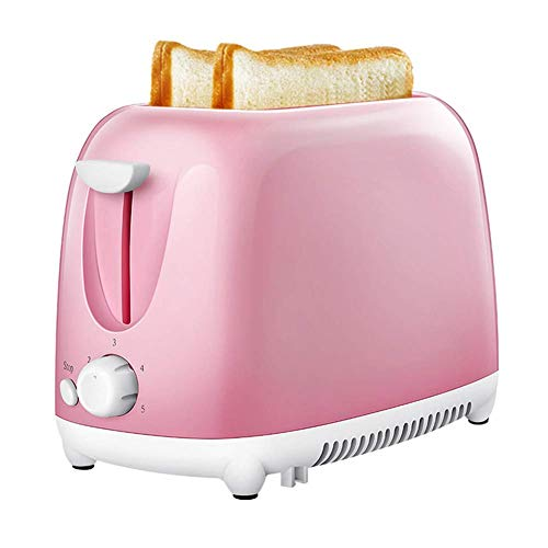 XXY-shop Bread Maker Toaster Home Automatic 2 Slices Toaster Breakfast Mini Sandwich Machine con Migas De Pan para Prevenir La Mermelada De Pan