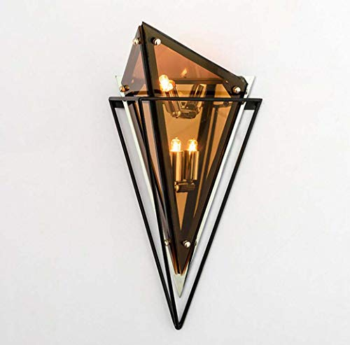 Nordic wandlampen, decoratieve wandlamp van smeedijzer en smeedijzer, postmodern bedlampje, slaapkamer, wandlamp, creatieve wandlamp G9, Awarmlight