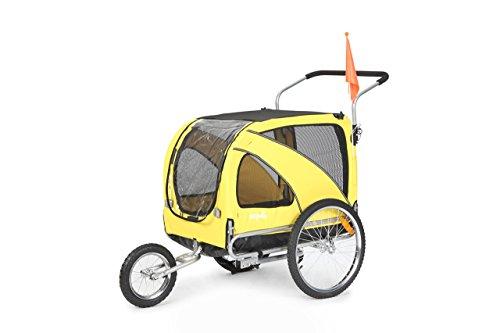 Sepnine Pet Dog Bike Trailer, Yellow