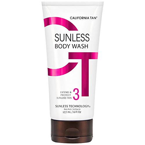 California Tan Sunless Body Wash, 6 Ounce | Extend & Protect Sunless Tan | Long-Lasting Bronze Glow
