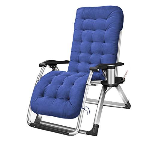 Gartenliege Sonnenliege Liegestuhl Liegestühle Hochleistungs-Sonnenliegen aus Metall Liegestühle für den Komfort von Erwachsenen Relax |Tragbare Schwerelosigkeits-Klappstühle im Freien für das Porta