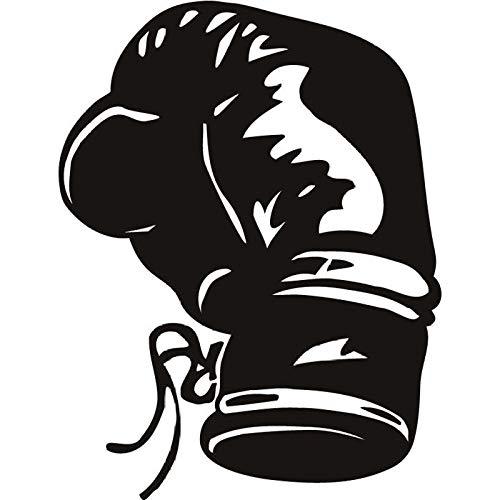 Boxhandschuh Boxer Kickboxen Extremsport & Kampf Wandtattoos Art Decals 57cm X 58cm