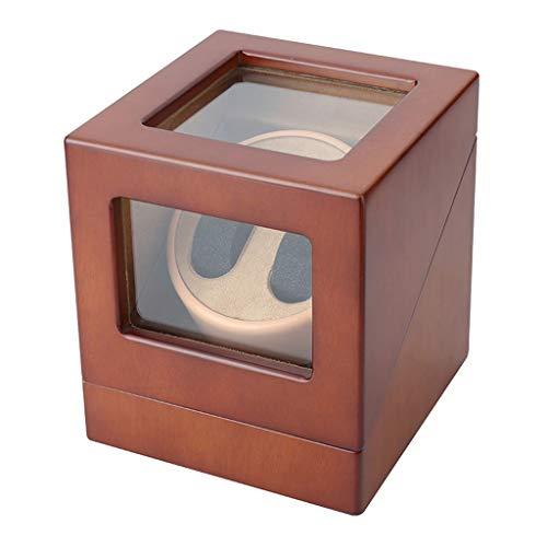 JYDQM Caja de Reloj, Relojes automáticos, con Super silencioso del Motor, 4 Ajuste Modo de rotación, Flexible Almohadilla de la Felpa señora Apta y el Hombre Relojes