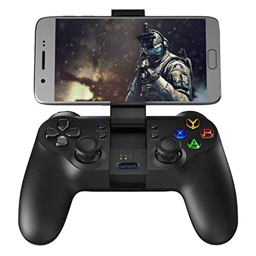 GameSir T1s Gaming Controller 2.4G Wireless Gamepad for Android Smartphone Tablet/ PC Windows/ Steam/ Samsung VR/ TV Box/ PS3