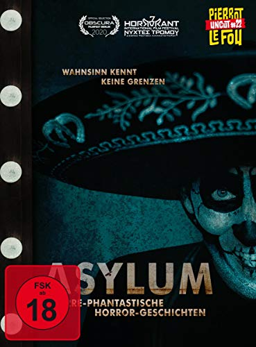 Asylum - Irre-phantastische Horror-Geschichten (Limited Edition Mediabook, + DVD, Cover C) [Blu-ray]