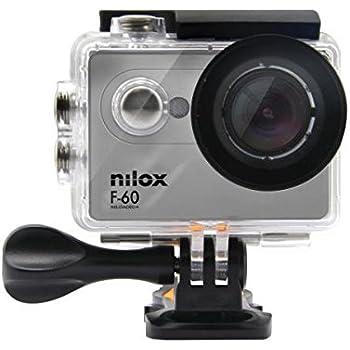 Nilox F-60 Reloaded Action Camera, Full HD, Grigio