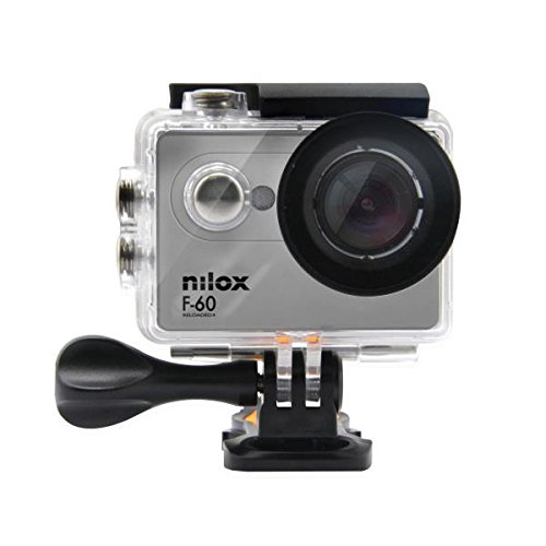 Nilox F-60 Reloaded Action Camera, Full HD, Grigio