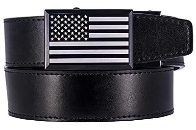 Nexbelt Go-in! Beveled Heritage USA Black Series Golf Belt