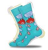 Fishing Socks Shuck On Deez Nuts Meme Socks Punny Socks Crab Socks Graphic Socks Joke Socks Casual Dress Socks