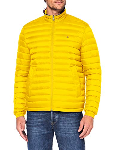 Tommy Hilfiger Herren Packable Down Jacket Jacke, Primary Yellow 214-580, L