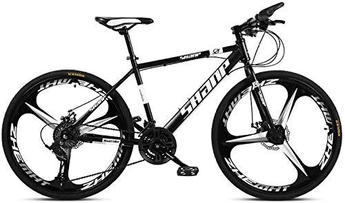 QJWY-Home Vélo VTT Fully, Alliage d'aluminium Cross-Country à Vitesse Variable MTB Sports Hommes...