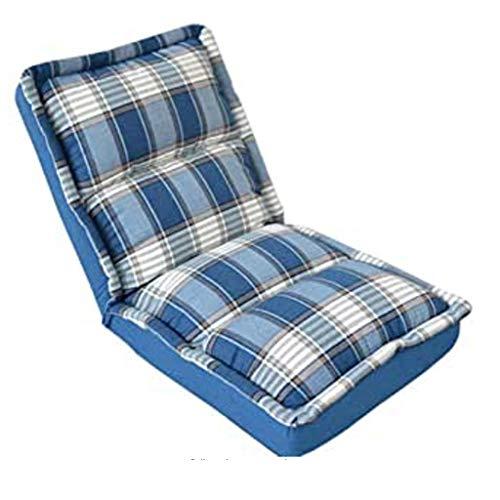 JJZXD Lavable Plegable sofá Perezoso con Cinco Marchas, Grueso Tubo de Acero Resistente al Desgaste Oxford Tela es fácil de Quitar