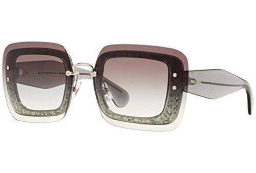 Miu Miu 0MU01RS UES0A7 67 Gafas de sol, Gris (Transparent Grey/Grey), Mujer
