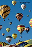 Hot Air Balloon: Novelty Line Notebook / Journal College Rule Line, A Perfect Gift Item (6 x 9 inches) For Hot Air Balloon Sports Lovers.